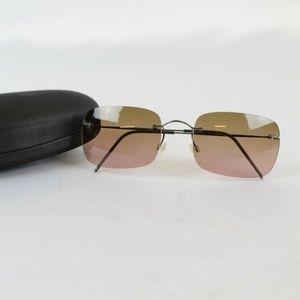 Armani Silver Wire Sunglasses